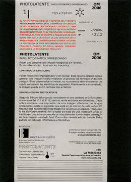 Photolatente, Oscar Molina